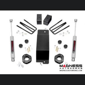 "Chevy Silverado 1500 4WD Suspension Lift Kit - 3.5"" Lift - Cast Steel"